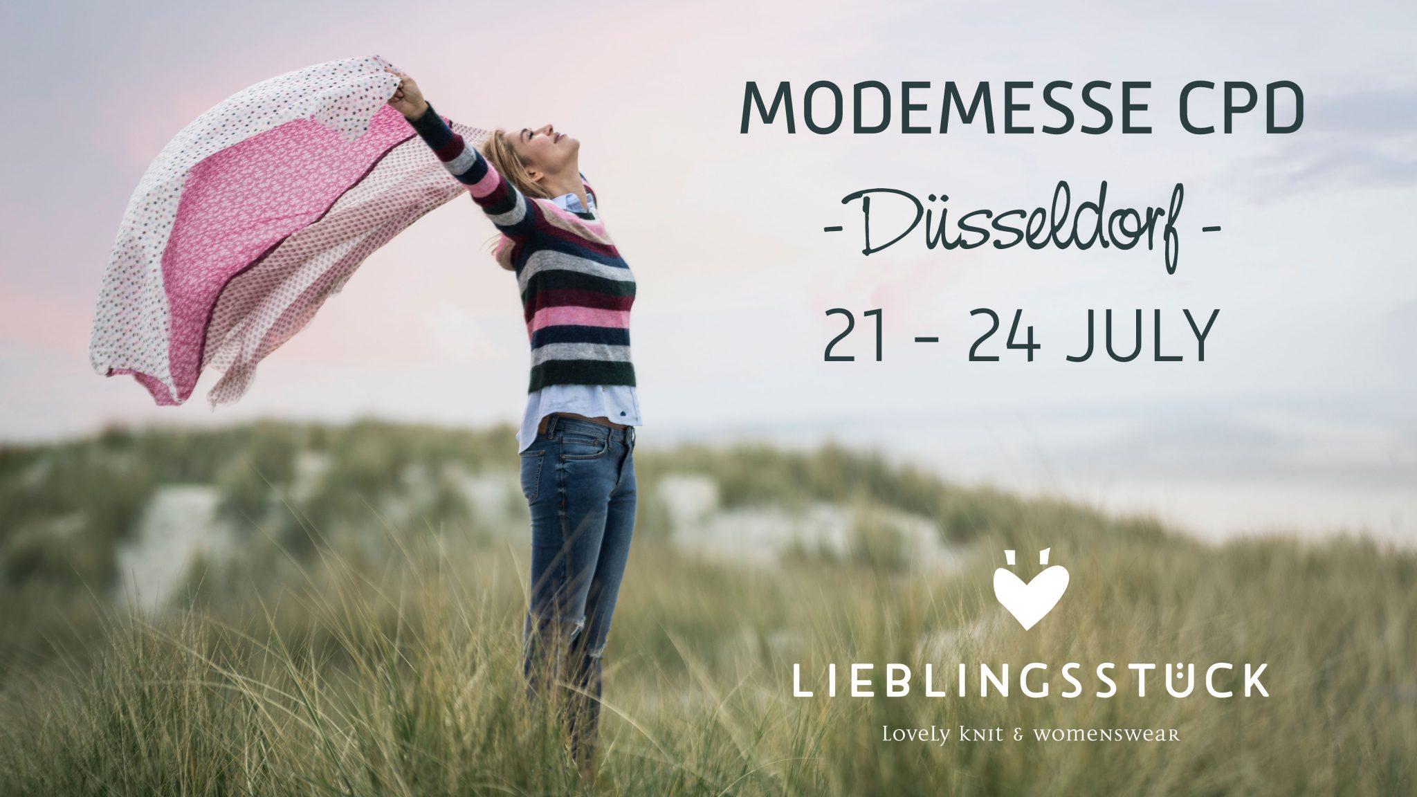 Lieblingsstueck Modemesse Messe CPD Düsseldorf