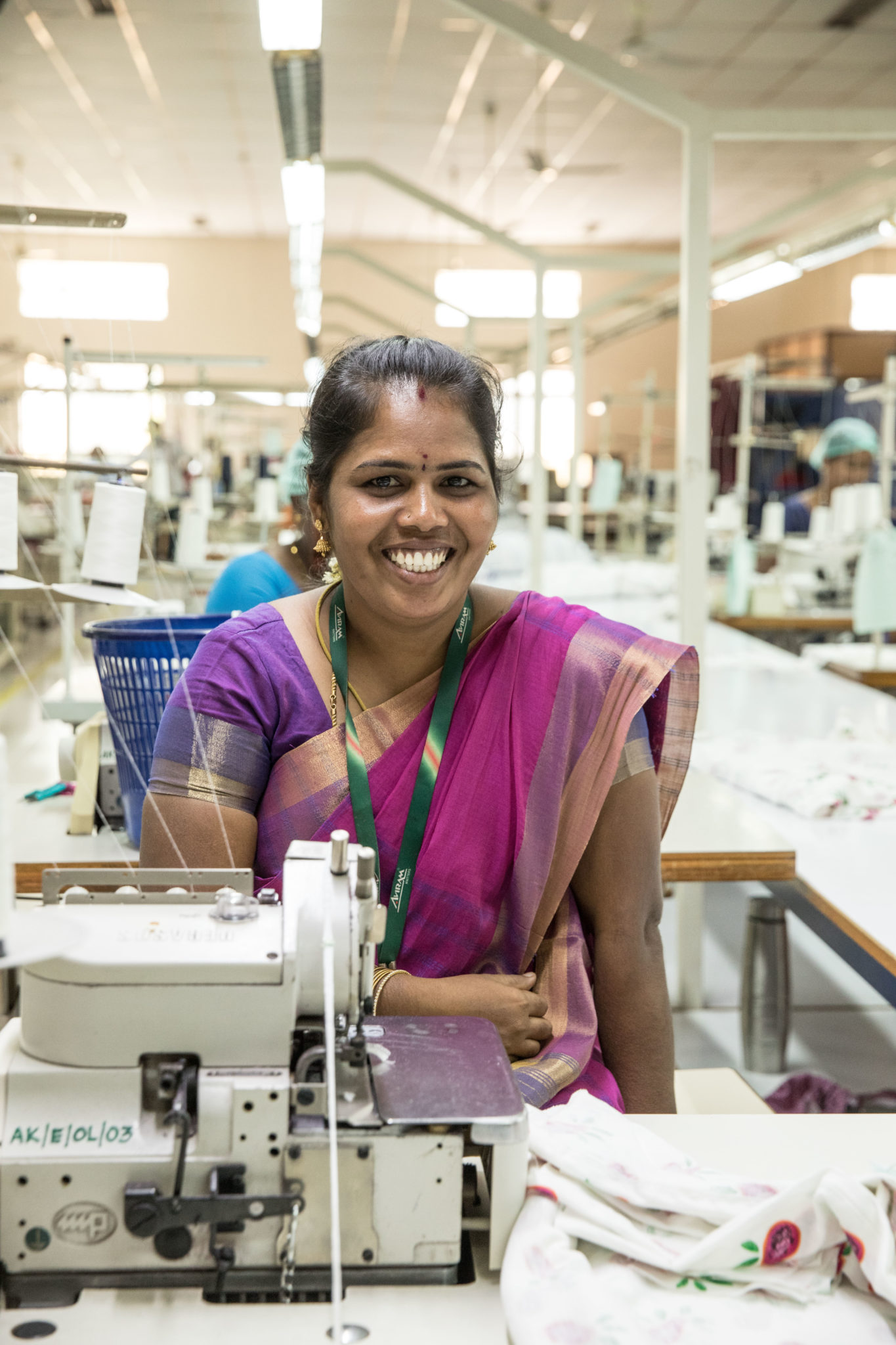 Lieblingsstueck india Inien fair production Nachhaltigkeit smile of