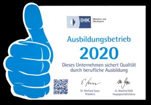 Lieblingsstueck Ausbildungsbetrieb IHK 2020 Jobs Ausbildung Zertifikat zertifiziert