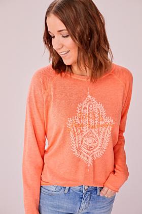 Sweatshirt Love Peace and  Harmony