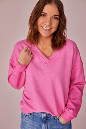 Sweatshirt V-Ausschnitt