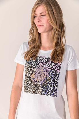 T-Shirt Tigerkopf Leo