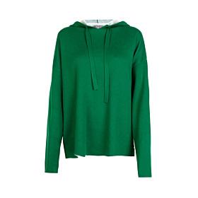 Langarm Pullover mit Kaupze