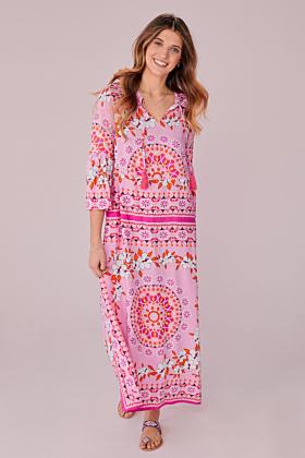 Kleid mit Mandala Druck