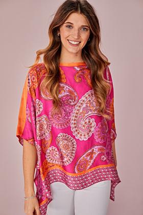 Kimono Paisley Druck