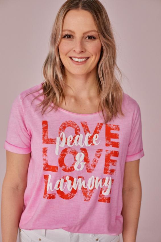 T-Shirt Love Peace & Harmony