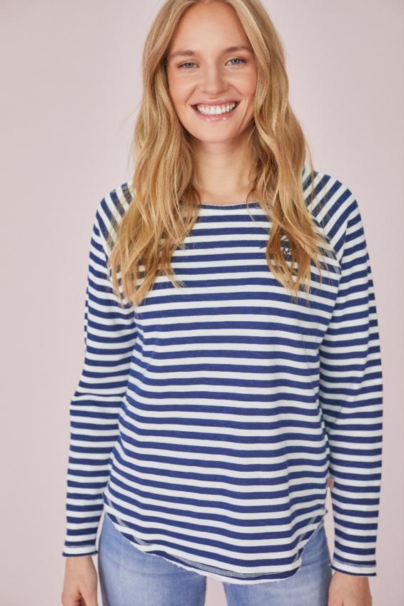 EP Ringel Sweatshirt smoky blue