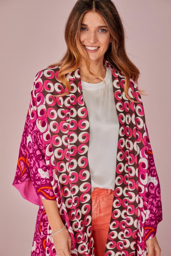 Offener Kimono